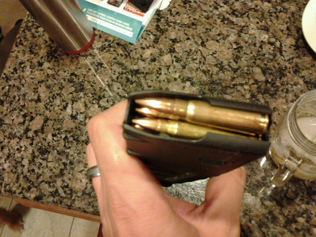 7.62 Ammo in a 5.56 Magazine