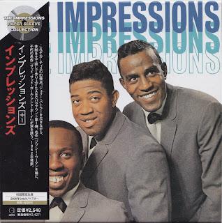 THE IMPRESSIONS - THE IMPRESSIONS (ABC-PARAMOUNT 1963) Jap mastering cardboard sleeve + 1 bonus
