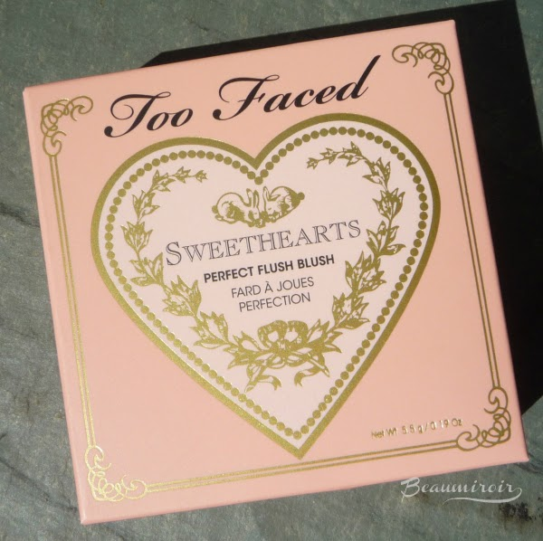 Too Faced Sweethearts Perfect Flush Blush Peach Beach outer packaging
