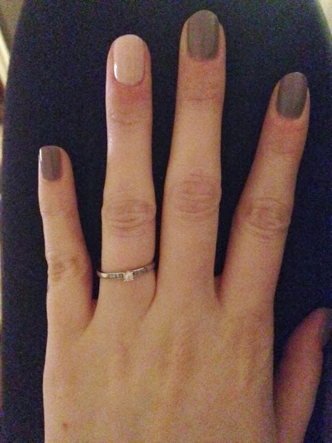 essie manicure engaged