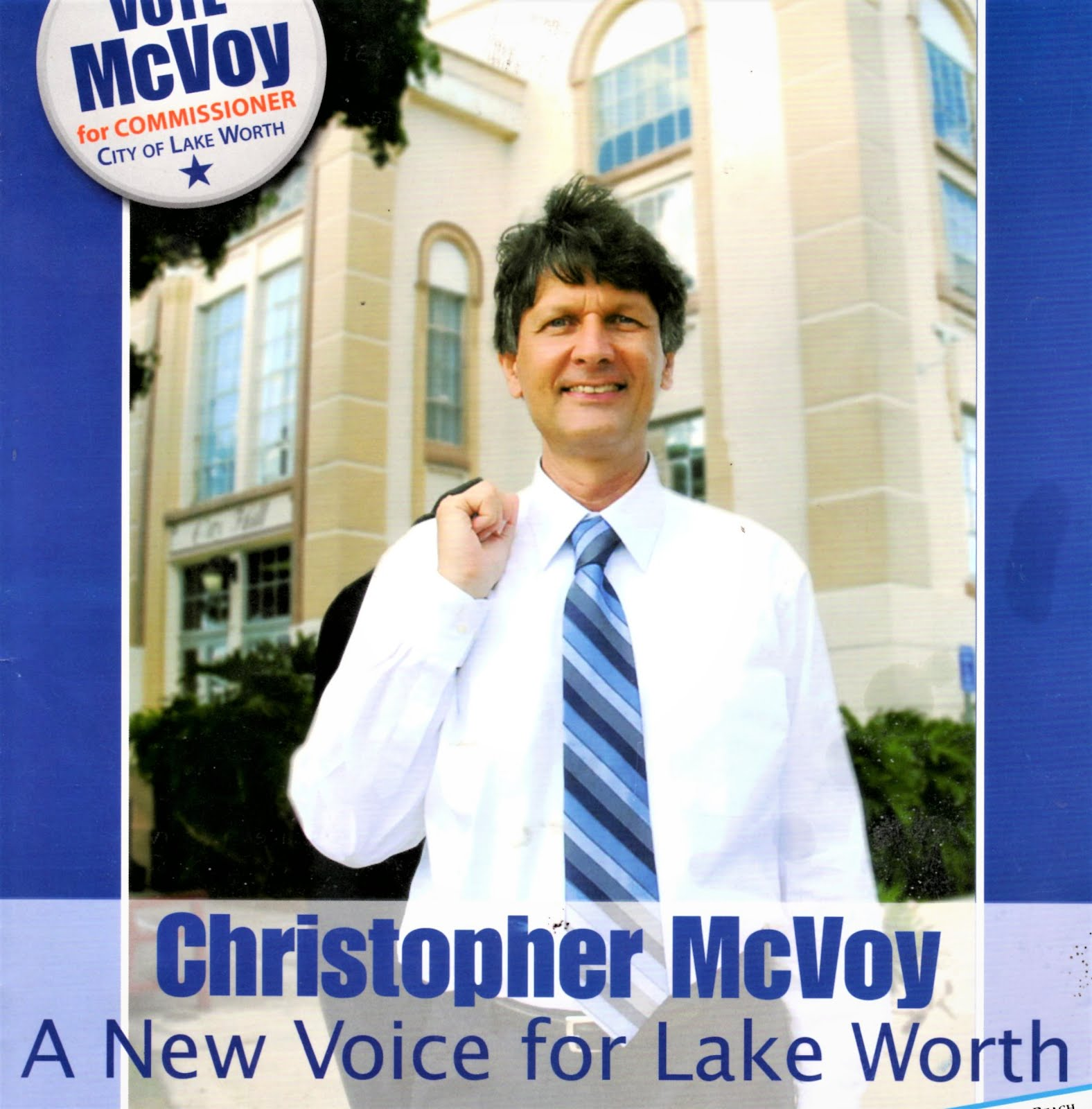 Speculation grows: Will McVoy run for mayor in 2021? Click on mailer: