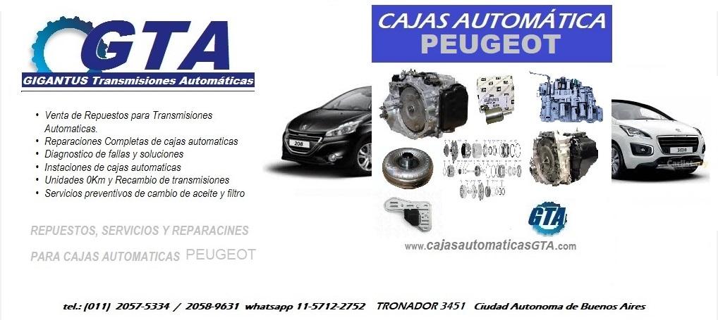 Cajas Automáticas Peugeot ZF Aisin