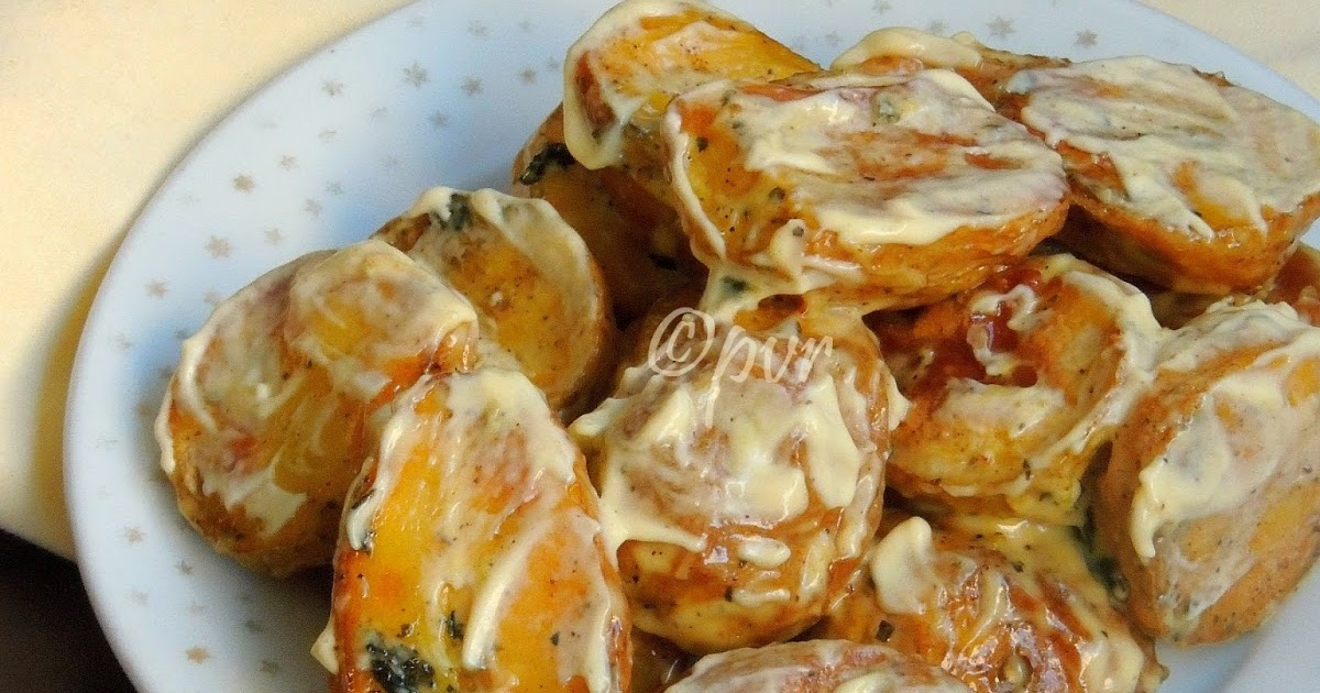 Priya's Versatile Recipes: Spanish Roasted Potato Salad