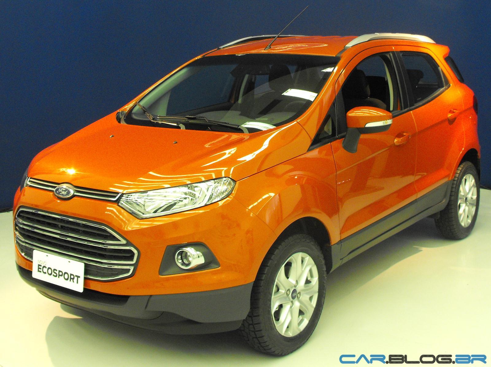 Ford new ecosport 2013 frente