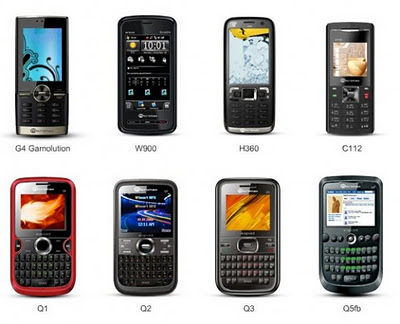 Micromax Mobile Models