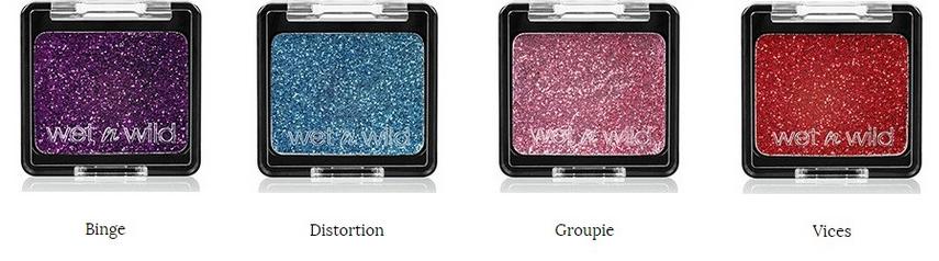 Color Icon Glitter Singles