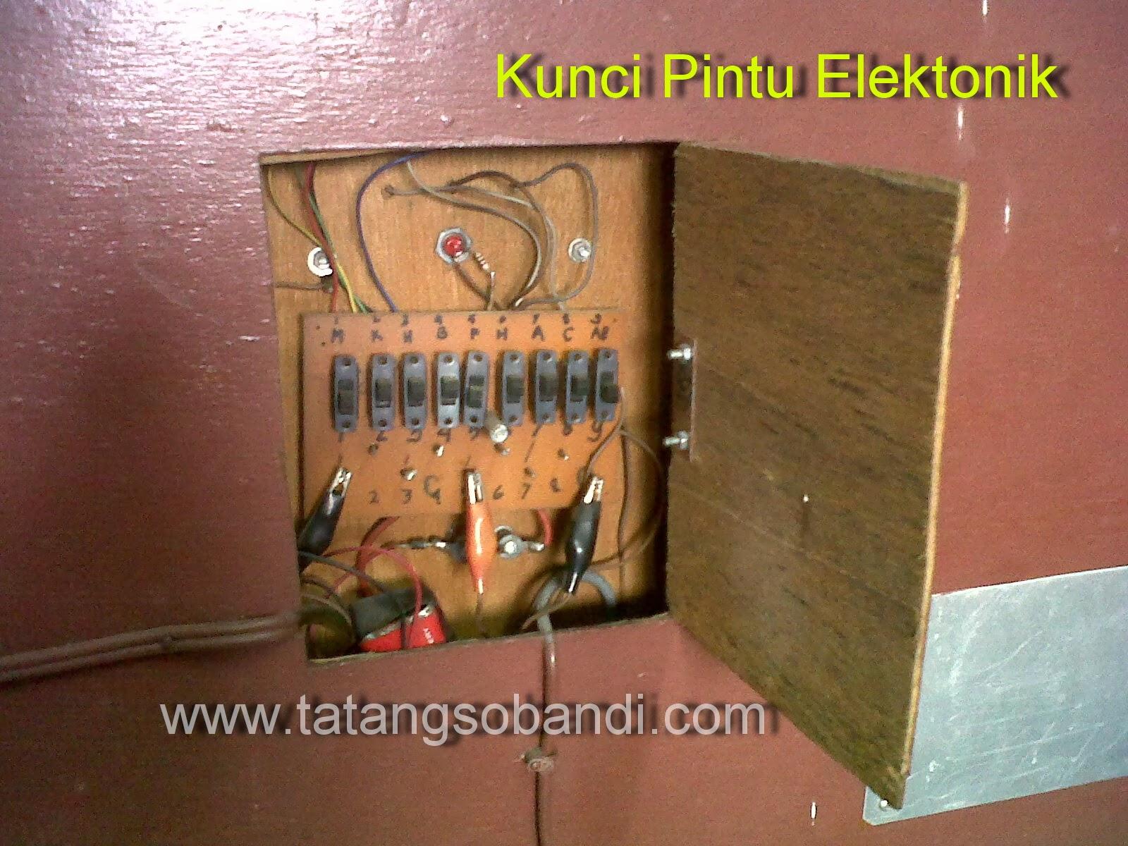 Cara merakit Sendiri Kunci Pintu Elektronik