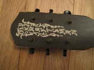 old kraftsman guitar serial numbers
