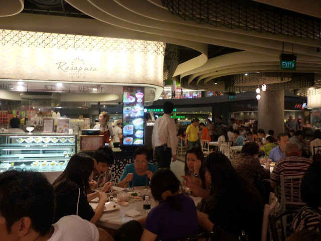 Food court, Marina Bay Sands