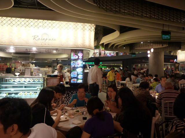 Food court, Marina Bay Sands