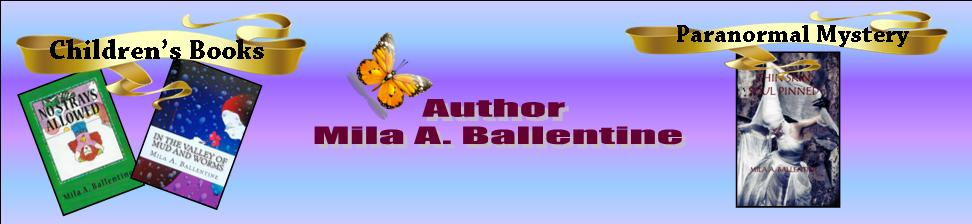 Author Mila A. Ballentine