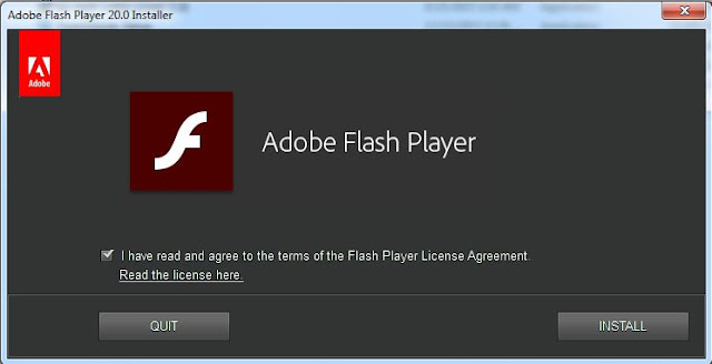 flash player 32 bit chip