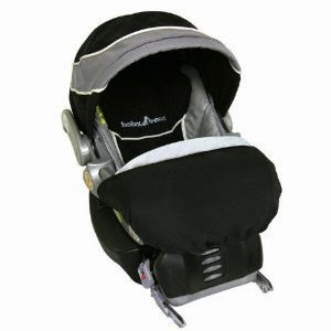 The Car Seat We Got Was From Baby Trend Hooked With Triangular Handle And Easy Snap On Off Base Made