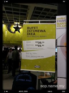 Bufet Istimewa IKEA