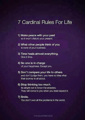 7 cardinl rules for life
