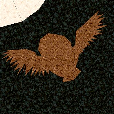 Owl Quilt Block