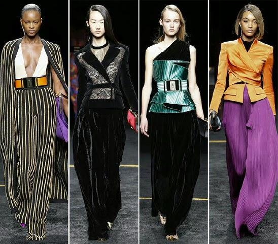 Fashion Shows 2016 in Balmain fashion show