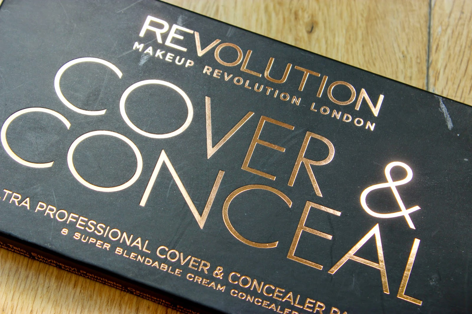 Makeup Revolution Cover & Conceal Discoveries Of Self Blog