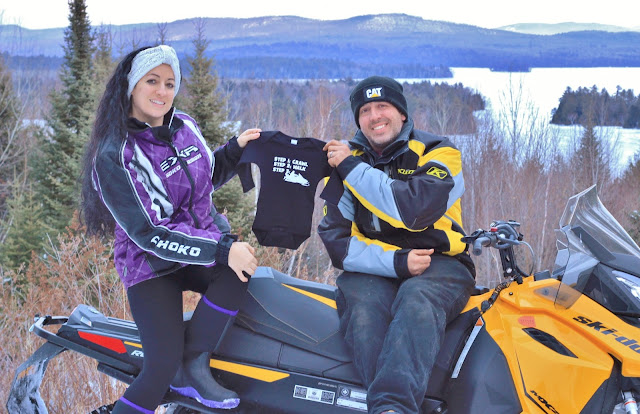 Snowmobiling while pregnant