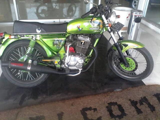Foto Modifikasi Honda CB Basic GL Newtech