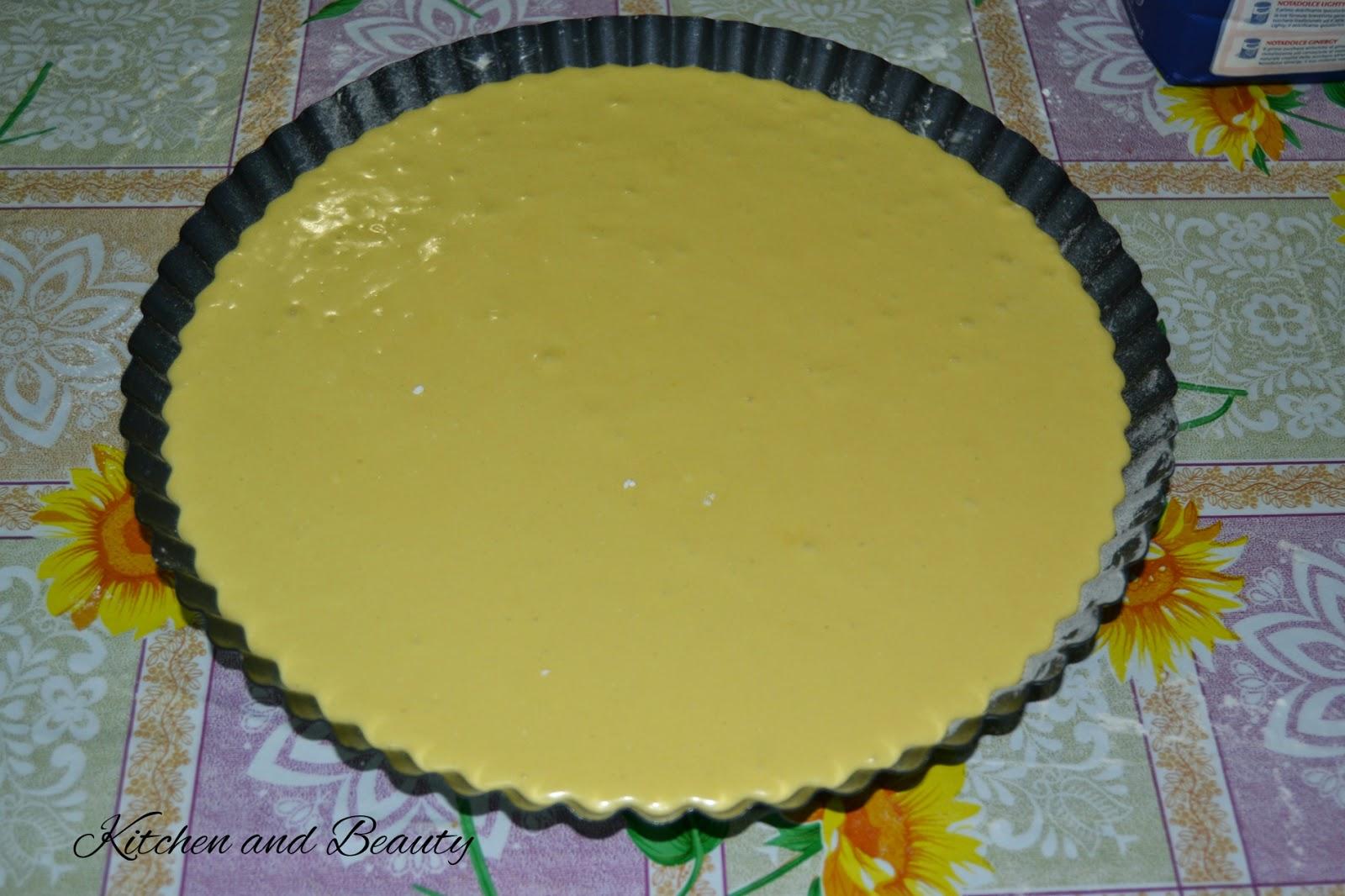 Kitchen And Beauty Crostata Morbida Sfiziosa Con Crema Al