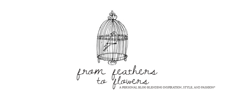 from feathers to flowers