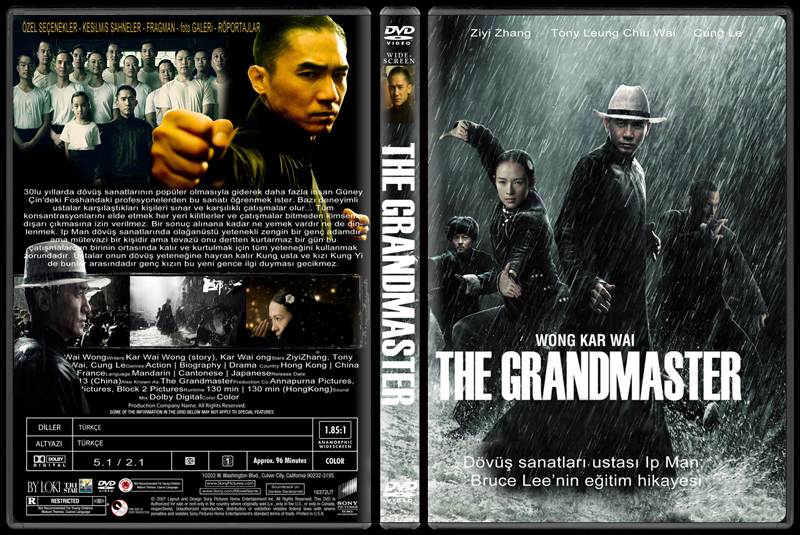 The gallery for --> The Grandmaster Dvd Cover