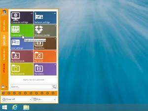 8StartButton nerupakan software yang berfungsi untuk menampilkan tombol start di windows 8 yang kaya akan fitur dan tampilan yang lebih menarik. Selain hanya menampilkan tombol atau menu start yang biasa, namun Software ini juga menampilkan menu start yang memilki desain yang unik dan kaya fitur, dan tentunya tidak menurangi rasa Windows 8.