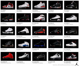 air jordans by year