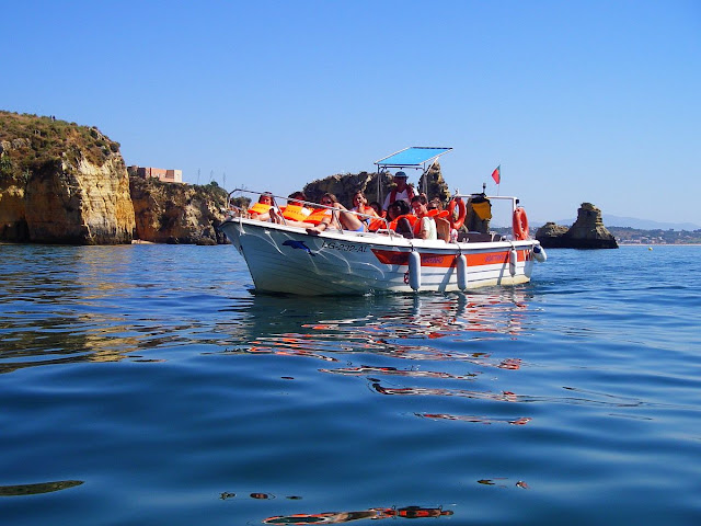 Lagos boat trips outdoor lda algarve portugal for Fishing boat trips