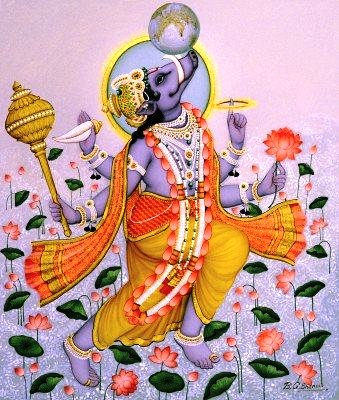 Varah Avatar of Lord Vishnu