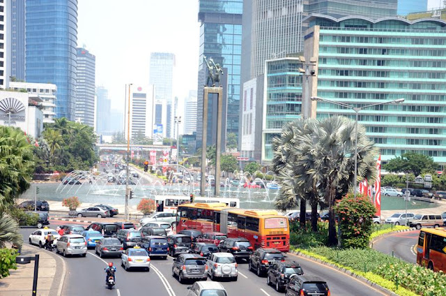 bunderan hotel indonesia jakarta