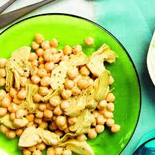 picture for Artichoke Chickpea Salad vegan recipe