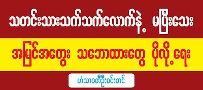 Hantharwaddy U Win Tin – Op-Ed from D-Waves