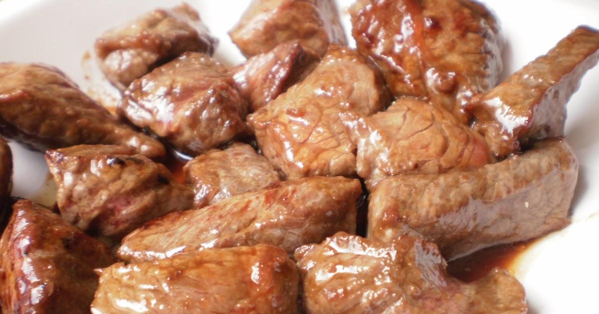 Mi cocina solomillo de ternera en salsa teriyaki for Cocinar solomillo ternera