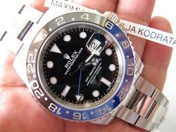 SOLD ROLEX GMT MASTER II BLUE BLACK CERAMIC aka BATMAN 116710BLNR - RANDOM