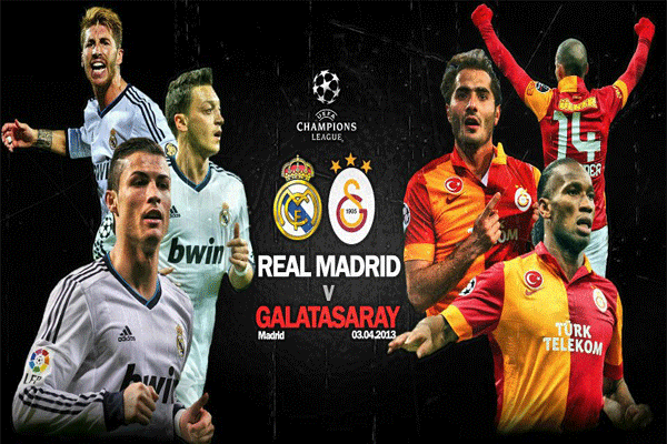 Keputusan Liga Juara-Juara Eropah 4 April 2013 - Real Madrid vs Galatasaray