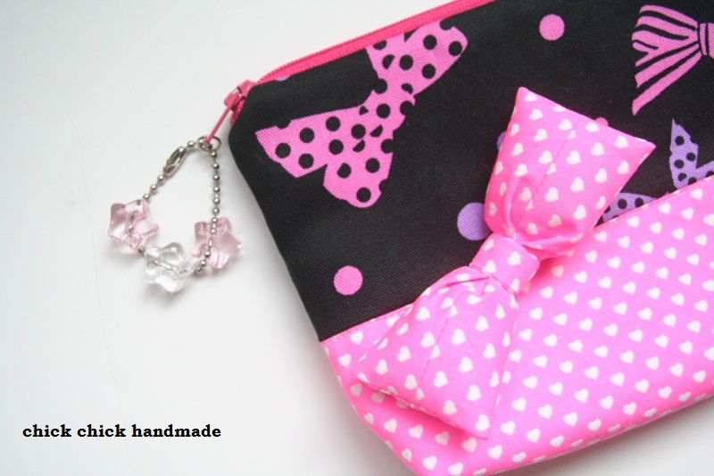 This Is A Ribbon Pouch That I Made Recently For Ten Year Old Girl Per Request Of My Daughter Overly Decorated One By Attaching Detachable