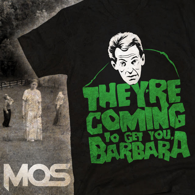 camiseta night of the living dead
