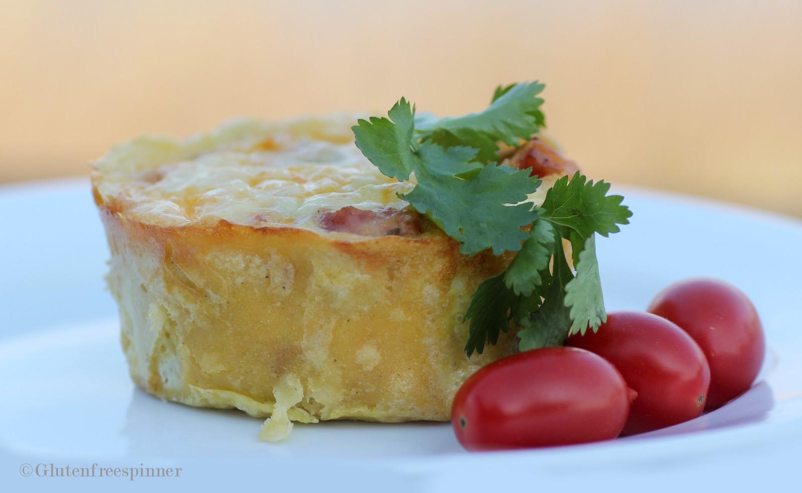 Corn Tortilla Mini Quiches