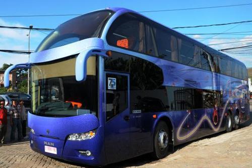 Bus Tingkat Miracle MAN yang Mewah