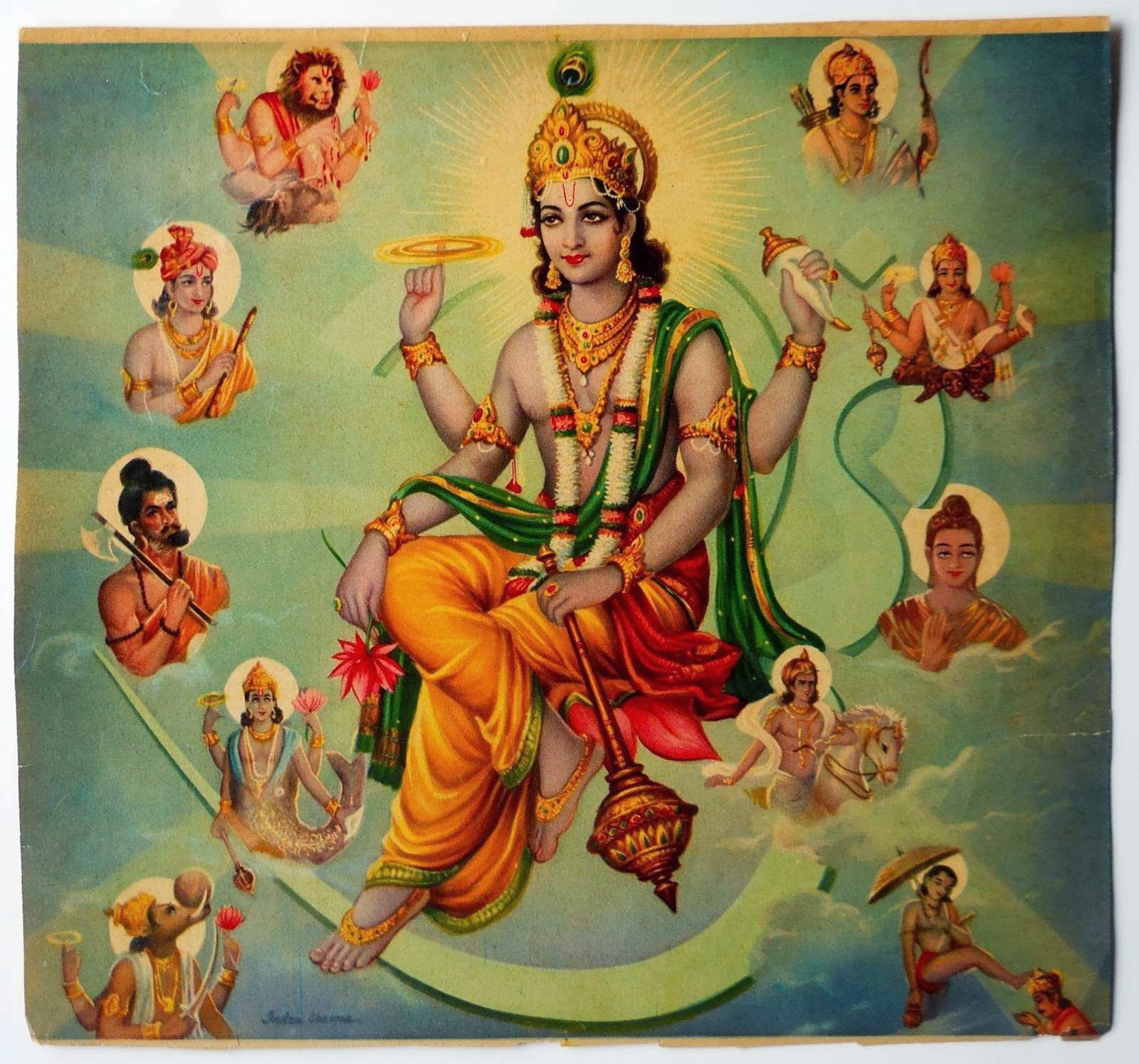 vishnu and the ten incarnations essay Read the prominence of vishnu and his avatars free essay and over 88,000 other research documents the prominence of vishnu and his avatars the prominence of vishnu and his avatars between.
