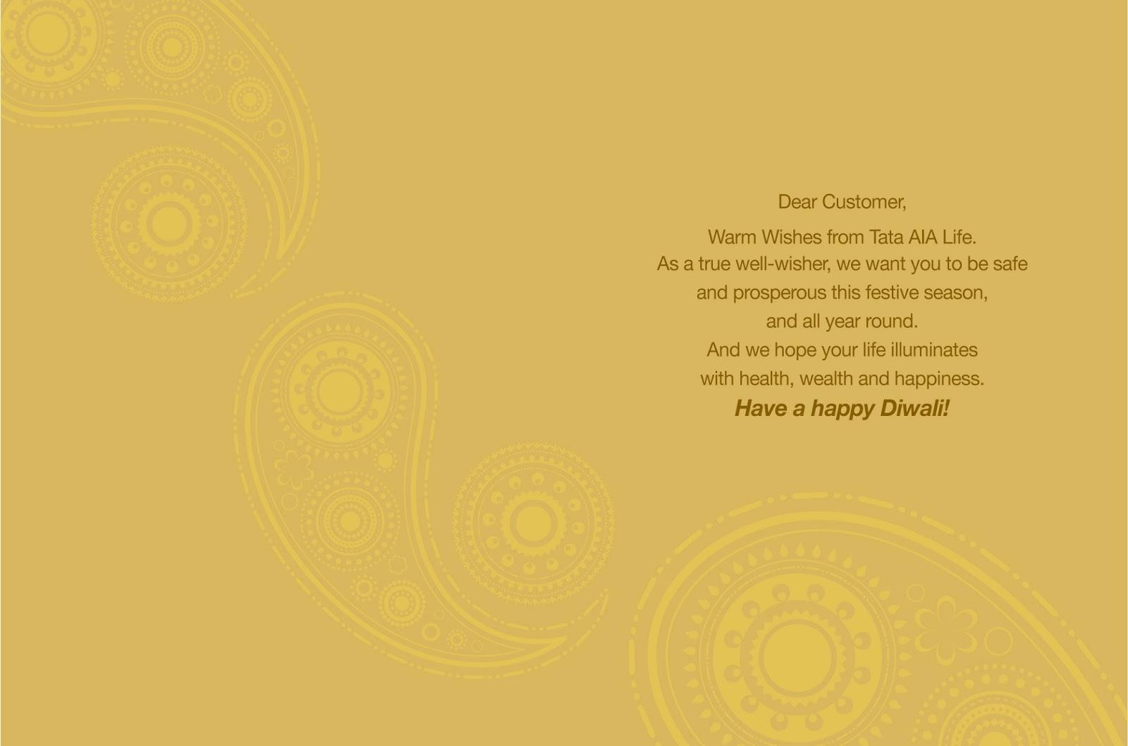 My Advertising Portfolio Part 2 Agency Work Diwali Greeting Card
