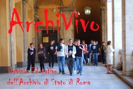 ArchiVivo:  Servizio Educativo dell'Archivio di Stato di Roma