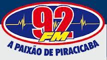 ouvir a Rádio 92 FM 92,7 Águas de São Pedro SP