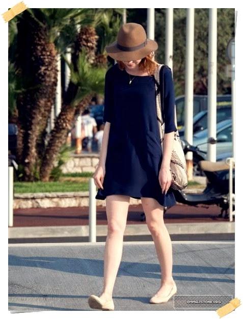 Casual Look Of Emma Stone Street Style | Celebrity Street ... Andrew Garfield