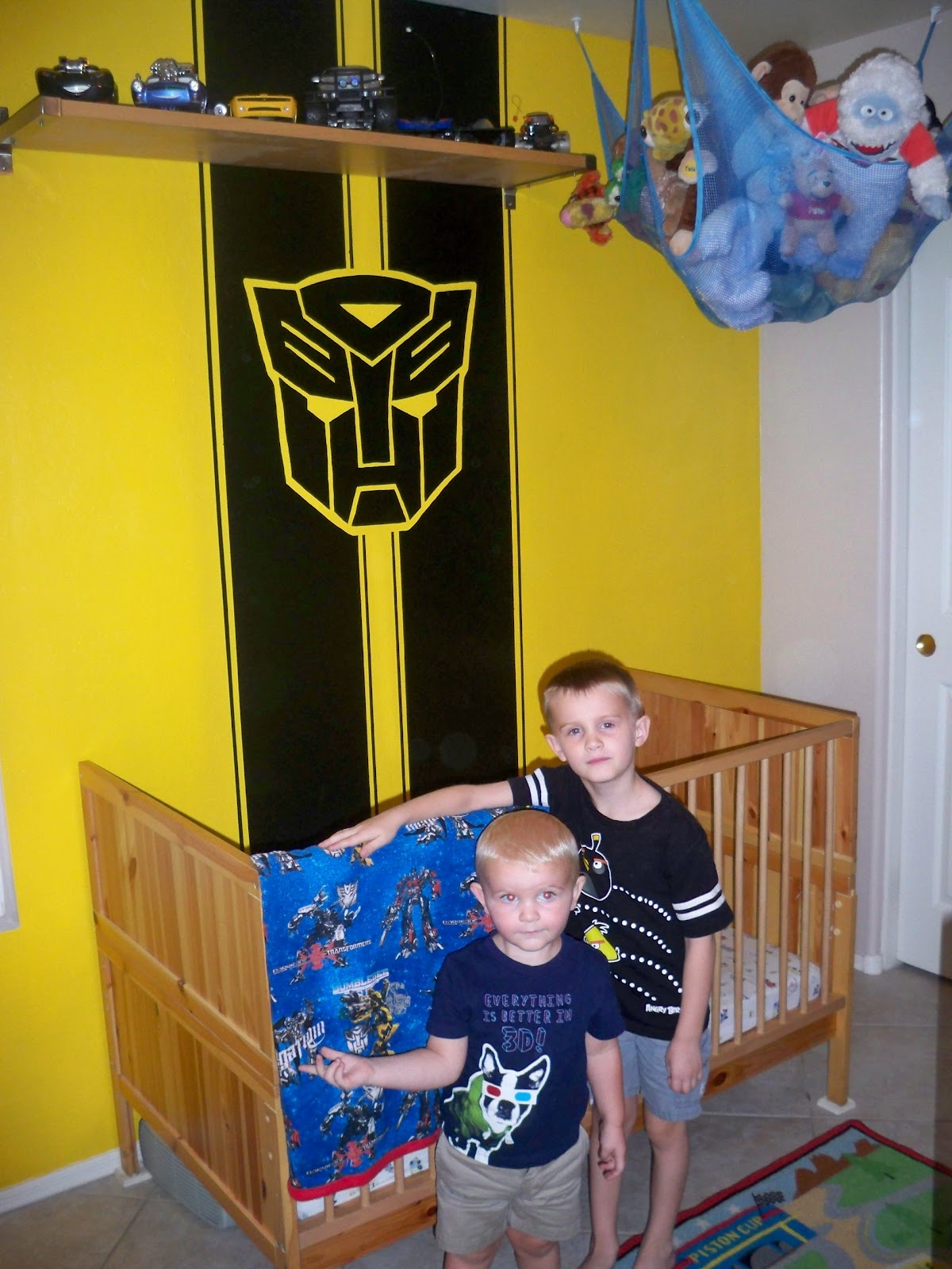 Heather Amp Jon Transformers Little Boys Bedroom