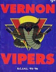 Vernon Vipers 1995-96 Program