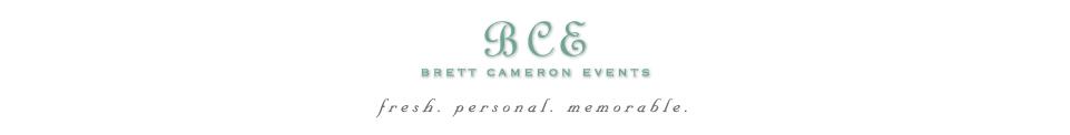 Brett Cameron Events