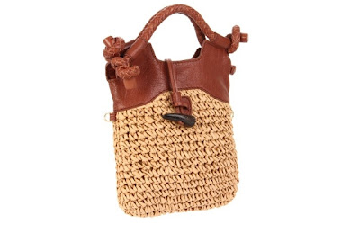 A Blog of Goodies: 70% off the Foley + Corinna Women's Mini City Straw Crossbody Bag (Free Shipping)